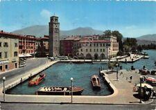 Cartolina Riva del Garda Il Porto Motoscafo Riva 1951