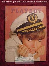 PLAYBOY August 1966 Aug 66 JANE FONDA SUSAN DENBERG BUNNIES OF DIXIE WOODY ALLEN