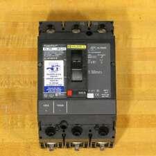 Square D Hll36150Solw Circuit Breaker, 150 Amp, 100 kAir, Shunt Trip, New