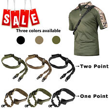 Tactical One Point/2 Point For Gun Sling Rifle Shoulder Strap Release Buckle US
