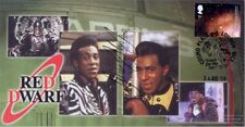 More details for red dwarf - signed/autographed stamp cover  by danny john jules