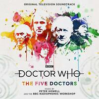 DOCTOR WHO-THE FIVE DOCTORS - OST-ORIGINAL SOUNDTRACK TV/ HOWELL,PETER   CD NEW!