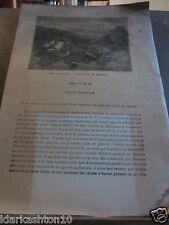 guerre 1870, Est-Bourgogne, Vosges, Saint-Quentin (pages extraites livre inconnu
