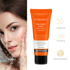 CLEANSER VITAMIN C REFRESHING FACIAL FACE Serum WASH Gel 120ML Make Up Remover