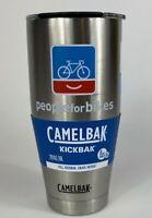 Insulated Tumbler CAMELBAK KICKBAK 20oz Stainless (peopleforbikes logo)