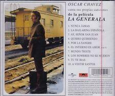 Oscar Chavez canta sus Propias Canciones de la Pelicula La Generala CD New Nuevo