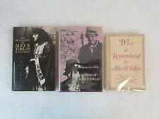 Lot of 3 ALICE B. TOKLAS Autobiography, Biography, Letters Hardcovers