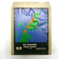 Pat Travers Radio Active 8 Track Tape 1981 Polygram Hard Rock