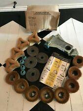 Vintage Eureka Polisher-Scrubber Attachment Kit Brushes Felt Pads Model 10 20 30
