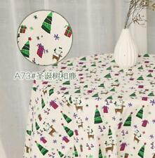 Christmas mix Pattern Cloth Cotton Linen Fabric Sewing Pillow/curtain/tablecloth