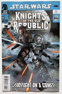 Star Wars Knights of the Old Republic #43   1st Dace Golliard   Dark Horse 2009
