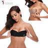 New Silicone Push Up Strapless Backless Self-Adhesive Gel Stick On Invisible Bra