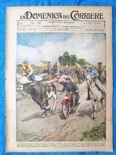 La Domenica del Corriere 13 marzo 1921 Mason City - Labodsiboni - Marsiglia