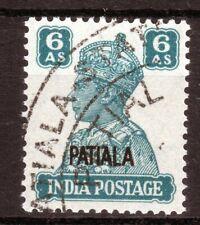 Patiala India state fine used SG113 Cat £40 [I2002]
