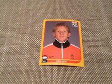 #351 Dirk Kuyt Países Bajos Panini world cup 2010 Swiss Gold Ed Pegatina Liverpool