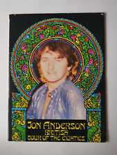 Jon Anderson Yes British Tour Of The Eighties Official Souvenir Programme