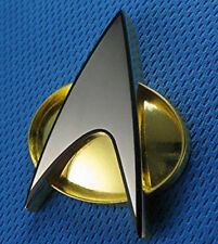 New Star Trek:The Next Generation Communicator Magnetic Badge Replica Captain US