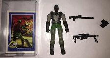 HEAVY DUTY 2004 Hasbro GI Joe ARAH Action Figure, Card, Case & Accessories Lot A