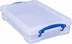 Really Useful 4 Litre Clear A4 Storage Box