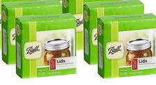 [4 Packs of 12] Ball Jar Canning Preserving Jar Lids Regular Mouth Size (48 Tota
