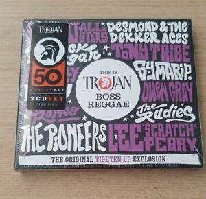 SEALED - CD - This Is Trojan Boss Reggae (PURPLE BOX)