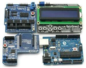 UNO + Xbee + V5 Sensor Shield + 1602 LCD Starter Kit 21