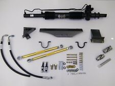 1965-66 Mustang Power Rack and Pinion with tilt Ididit Chrome column
