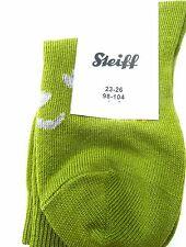 Steiff Socken / Strümpfe,uni  mit Bärengesicht auf dem Spann