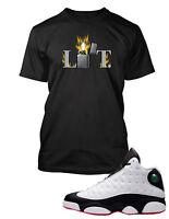 Tee Shirt to Match Air Jordan 13 He Got Game Shoe  Graphic LIT Tee Big Tall Sm