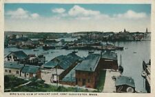 Old Postcard - Bird's Eye View of Vincent Cove - East Gloucester MA