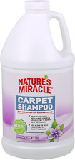 Natures Miracle Pet Carpet Shampoo Deep Cleaning Stain and Odor Remover 64 Oz