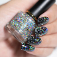 6ml BORN PRETTY Sequins Top Coat Glitter Holographicss Effect Nail Polish