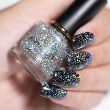 6ml BORN PRETTY Sequins Top Coat Glitter Holographic Effect Nail Polish