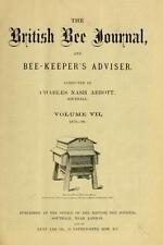 ANTIQUE BRITISH BEEKEEPING MAGAZINES ON DVD - BEES HONEY BEE WAX HIVE MANAGEMENT