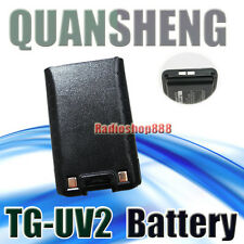 2-012N Quansheng Li-ion Battery 2000Mah for TG-UV TG-UV2 High Capacity Battery