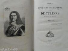 HISTOIRE DE ...TURENNE: LOUIS ARMAGNAC   MAME 1880