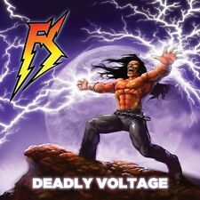 Firstrike - Deadly Voltage / Agony Pit CD 2013 obscure power thrash Divebomb