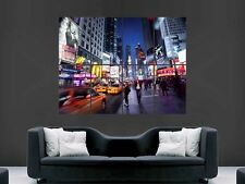 Broadway New York City Giant Wall Poster Print