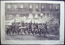 """Torchlight Procession of the New York Firemen"" 1858"