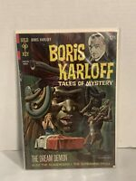 VTG 1967 Boris Karloff Tales Of Mystery The Dream Demon Comic March 10053-803