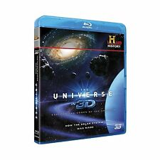 The Universe in 3D How The Solar System Was Made Blu-ray + 3D History Channel HD