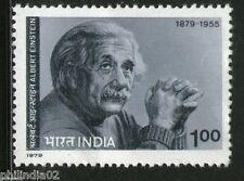 India 1979 Albert Einstein 1v Phila - 786 MNH