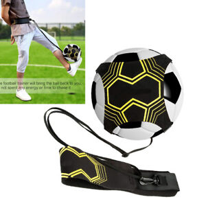Football Self Training Kick Practice Trainer Aid Equipment Waist Belt Solo Tool