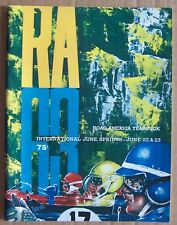 YEARBOOK ~ ROAD AMERICA ~ JUNE SPRINTS 1963