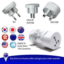 Universal international power adapter electrical plug travel kit AU/US/UK/EU etc