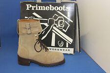 Prime Boots logger  worker   stiefel gr. 39  wildleder