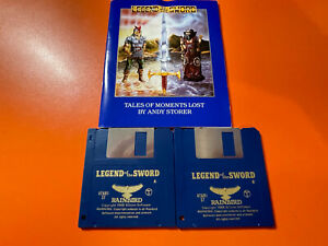 LEGEND OF THE SWORD VERY RARE - ATARI ST - @LOOK@ NO BOX - DISC MANUAL ONLY