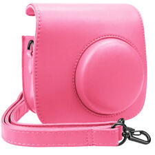 Protective Leather Camera Shoulder Bag Case Cover For Fujifilm Instax Mini 8 / 9