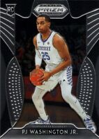 PJ Washington Jr. RC 2019-20 Panini Prizm Draft Picks Rookie Card #14 Hornets 🔥