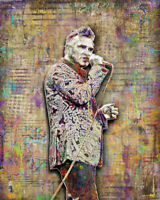 MORRISSEY of THE SMITHS Poster, Morrissey Art Print 16x20inch  Free Shipping